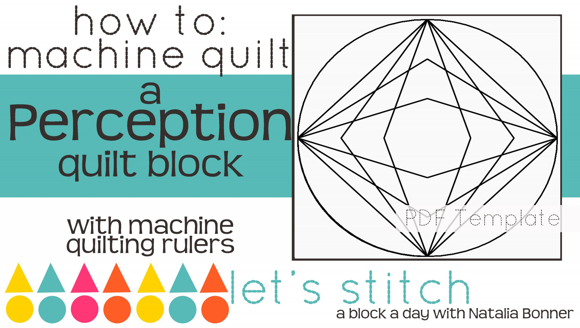 Let's Stitch - A Block a Day With Natalia Bonner - PDF - Perception