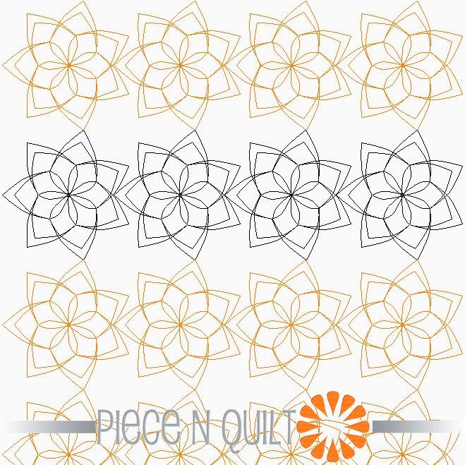 Perennial Pantograph Pattern - Digital