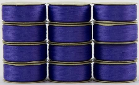 Super Bobs - The Bottom Line Bobbins - L Style - Periwinkle - 12ct
