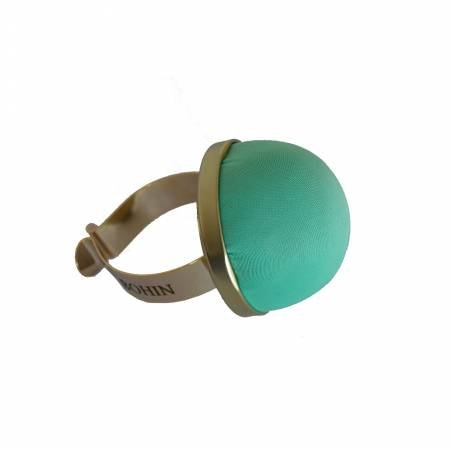 Pincushion with Gilted Bracelet - Water Green