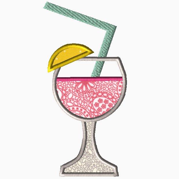 Pink Lemonade Applique