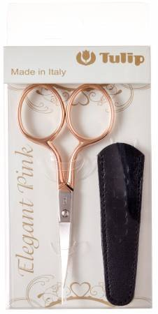 Pink Scissors with Curved Blades
