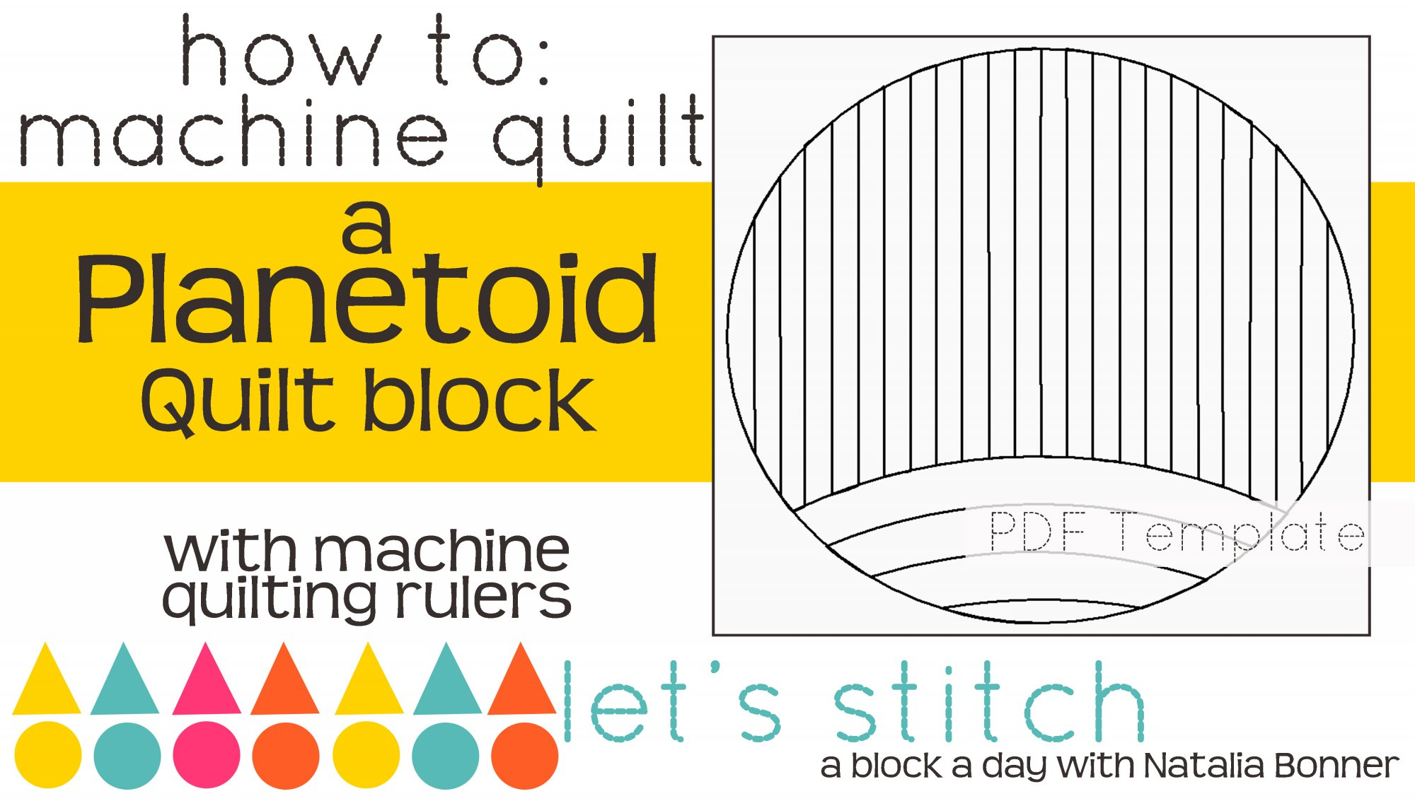 Let's Stitch - A Block a Day With Natalia Bonner - PDF - Planetoid