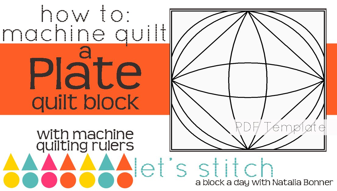 Let's Stitch - A Block a Day With Natalia Bonner - PDF - Plate