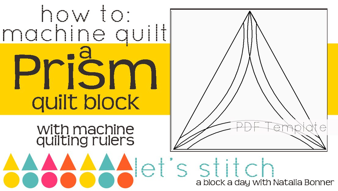 Let's Stitch - A Block a Day With Natalia Bonner - PDF - Prism
