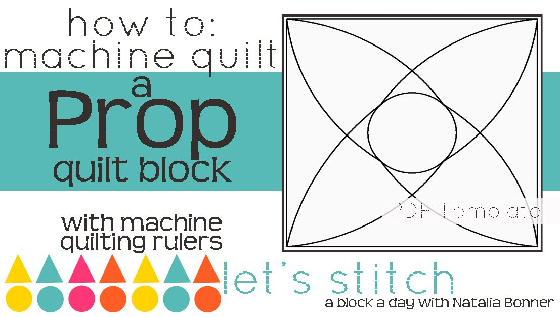 Let's Stitch - A Block a Day With Natalia Bonner - PDF - Prop