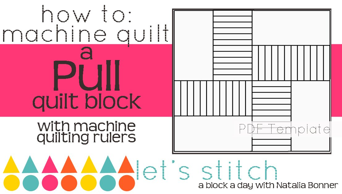 Let's Stitch - A Block a Day With Natalia Bonner - PDF - Pull