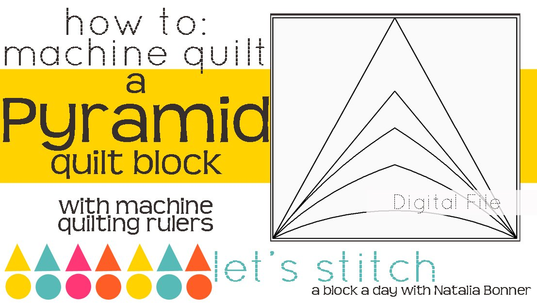 Let's Stitch - A Block a Day With Natalia Bonner - PDF - Pyramid
