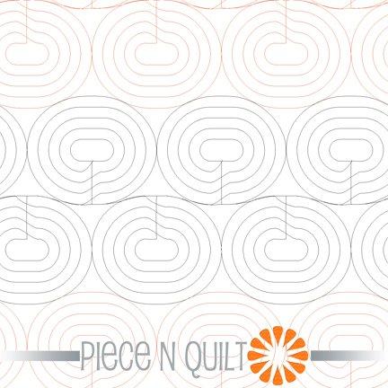Race Track Pantograph Pattern - Digital