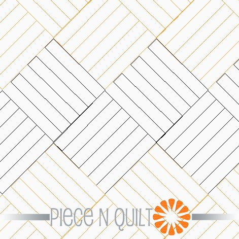 Rail Pantograph Pattern - Paper