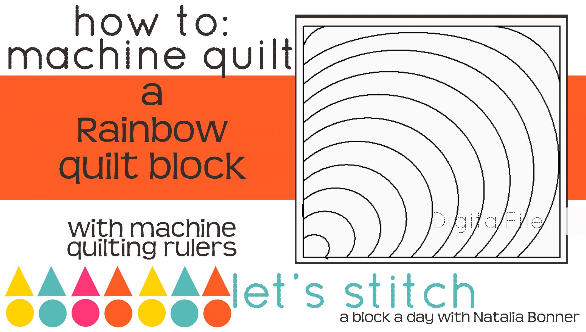 Rainbow 6 Block - Digital