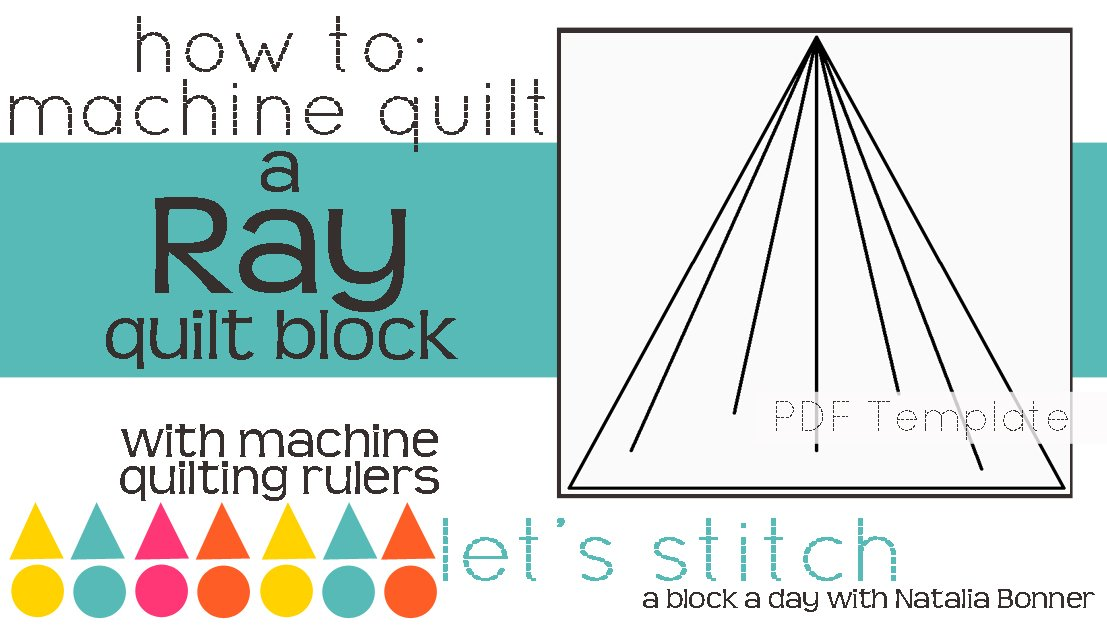 Let's Stitch - A Block a Day With Natalia Bonner - PDF - Ray