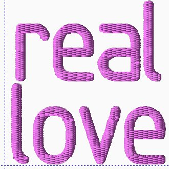 Real Love Embroidery
