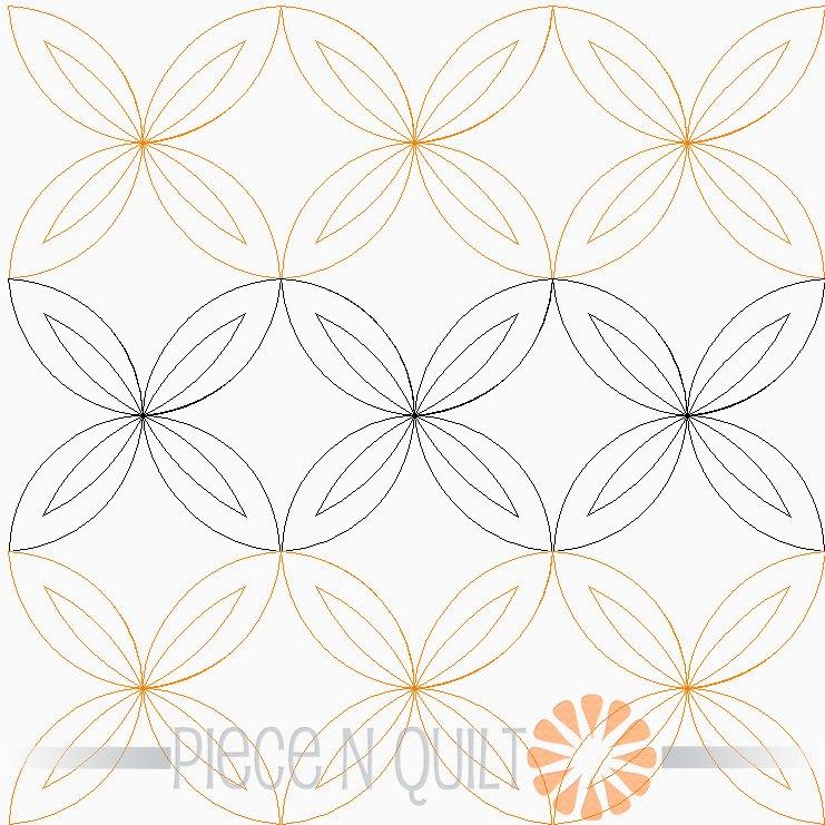 Rind Pantograph Pattern - Digital