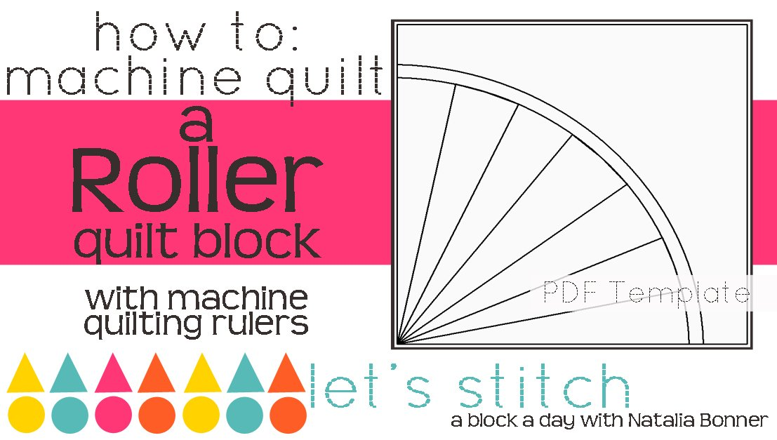 Let's Stitch - A Block a Day With Natalia Bonner - PDF - Roller