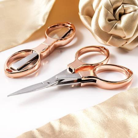 Rose Gold Folding Scissor