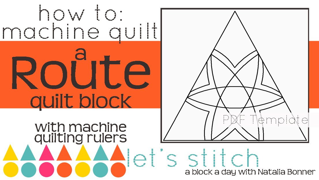 Let's Stitch - A Block a Day With Natalia Bonner - PDF - Route