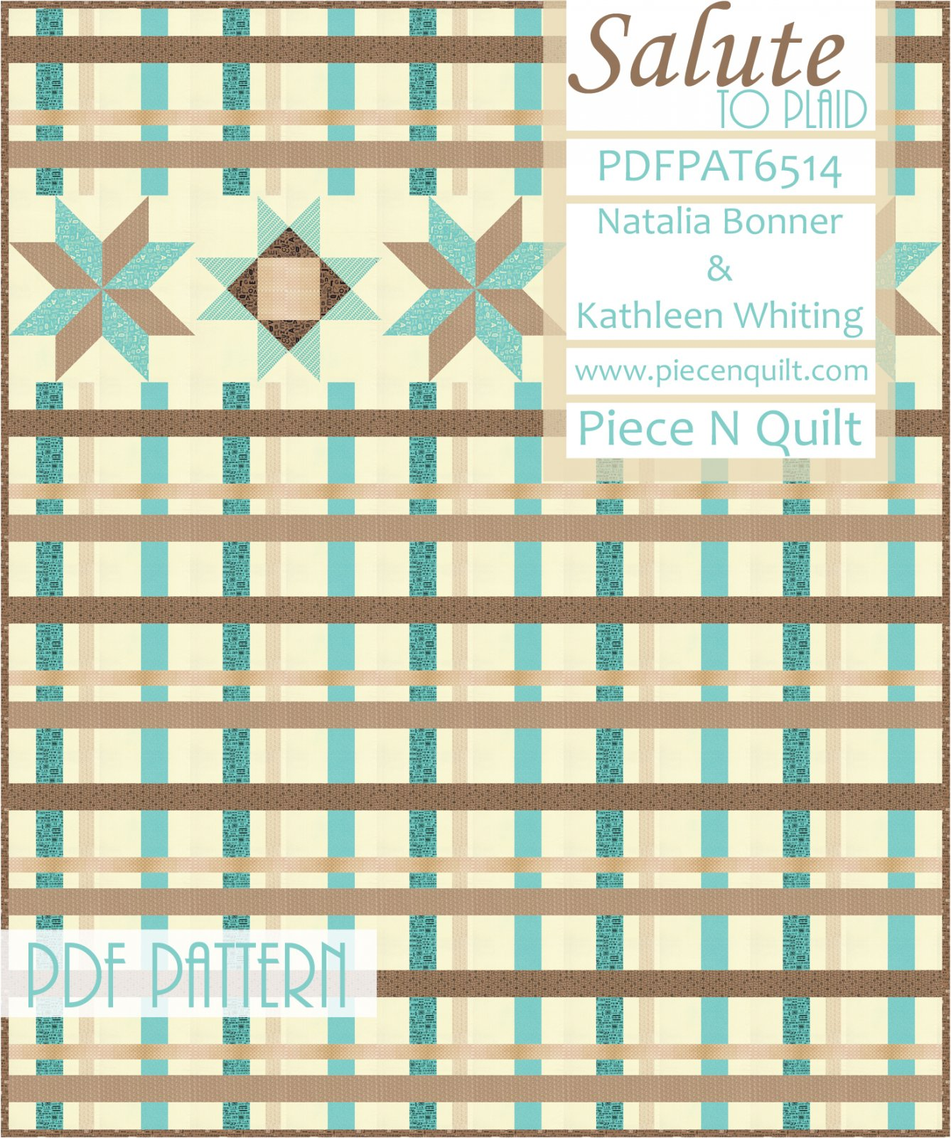 Salute to Plaid PDF Quilt Pattern