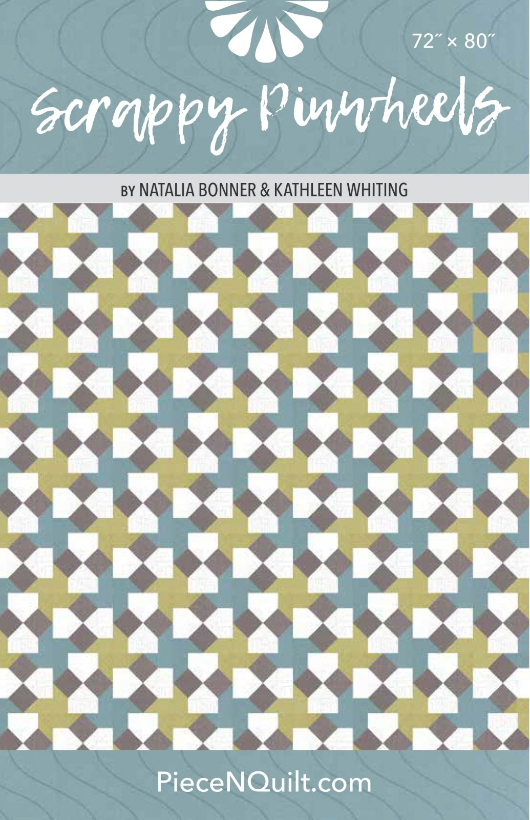 Scrappy Pinwheels Quilt Pattern - PDF Version