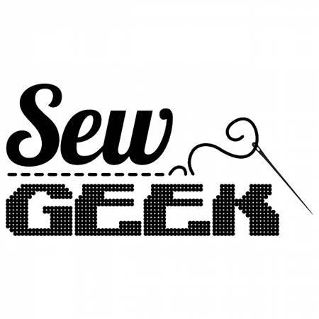 Vinyl Window Decal - Sew Geek