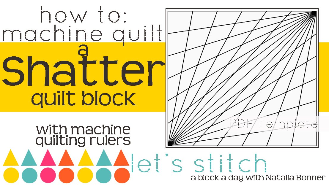 Let's Stitch - A Block a Day With Natalia Bonner - PDF - Shatter