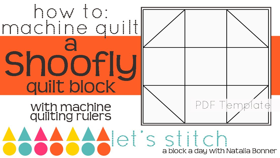 Let's Stitch - A Block a Day With Natalia Bonner - PDF - Shoofly
