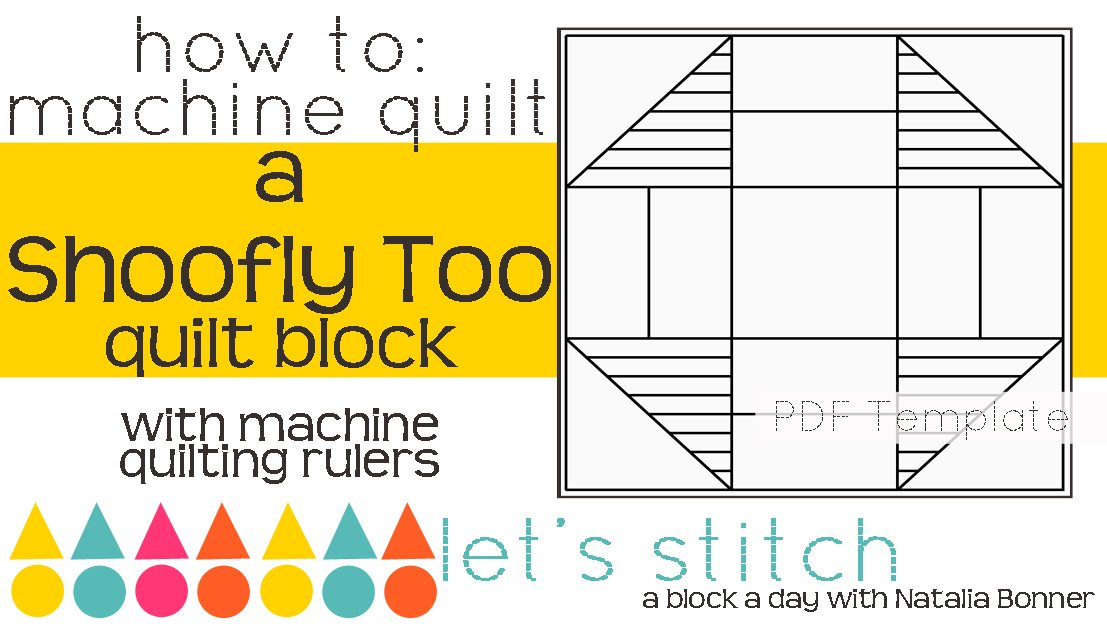 Let's Stitch - A Block a Day With Natalia Bonner - PDF - Shoofly Too
