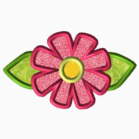 Single Flower Applique