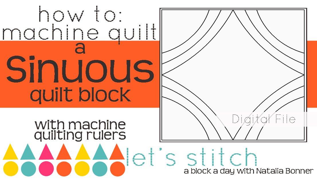 Sinuous 6 Block - Digital