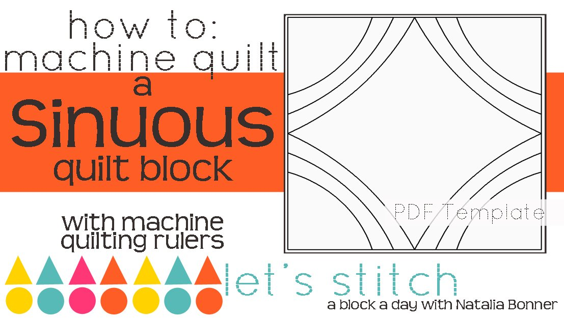 Let's Stitch - A Block a Day With Natalia Bonner - PDF - Sinuous