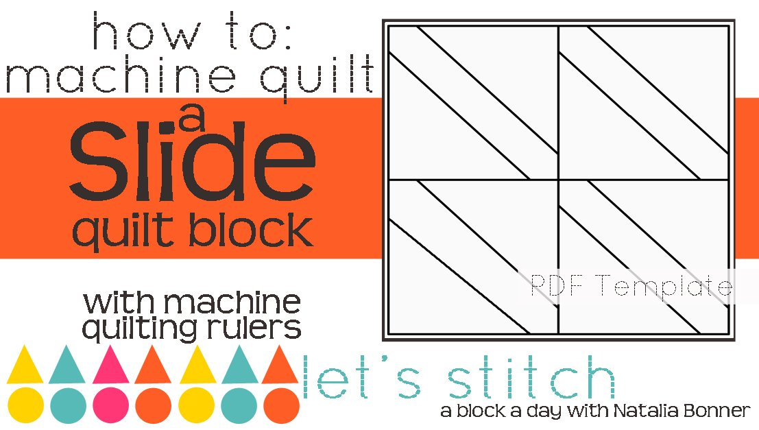 Let's Stitch - A Block a Day With Natalia Bonner - PDF - Slide