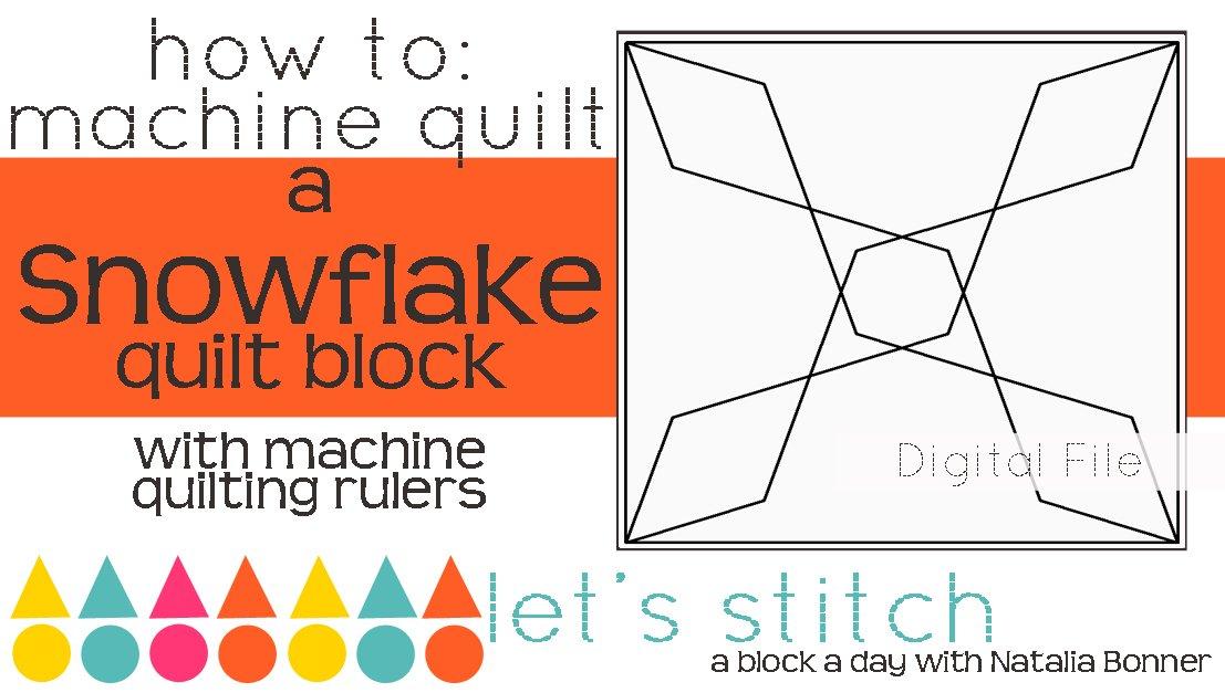 Snowflake 6 Block - Digital
