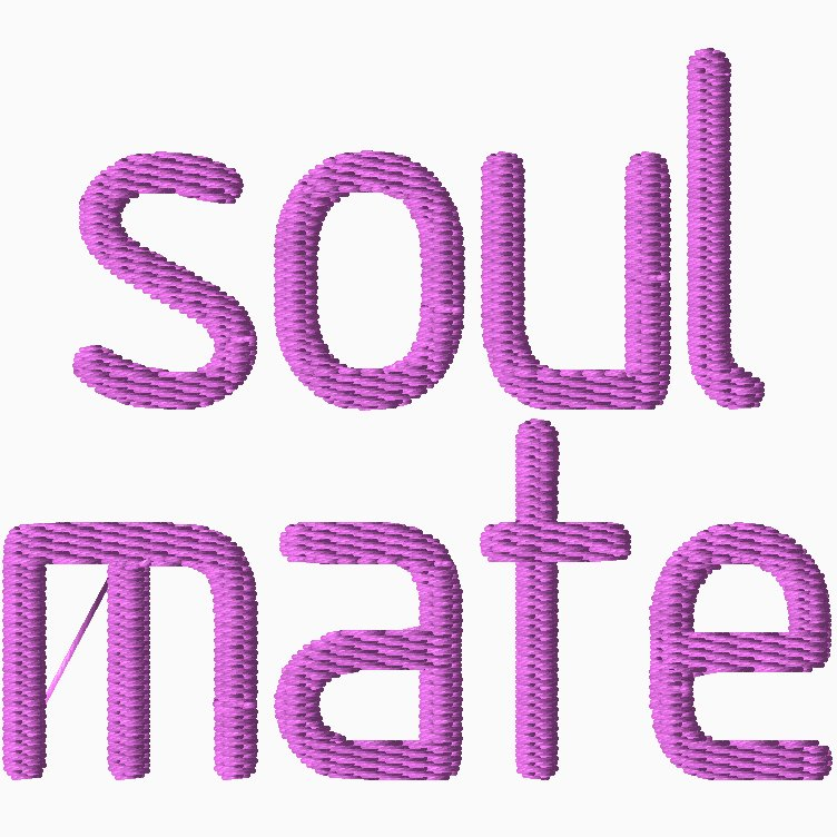 Soul Mate Embroidery
