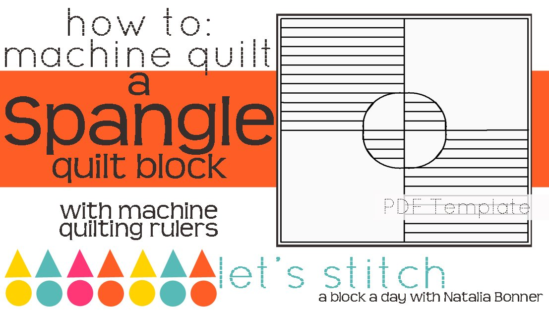 Let's Stitch - A Block a Day With Natalia Bonner - PDF - Spangle