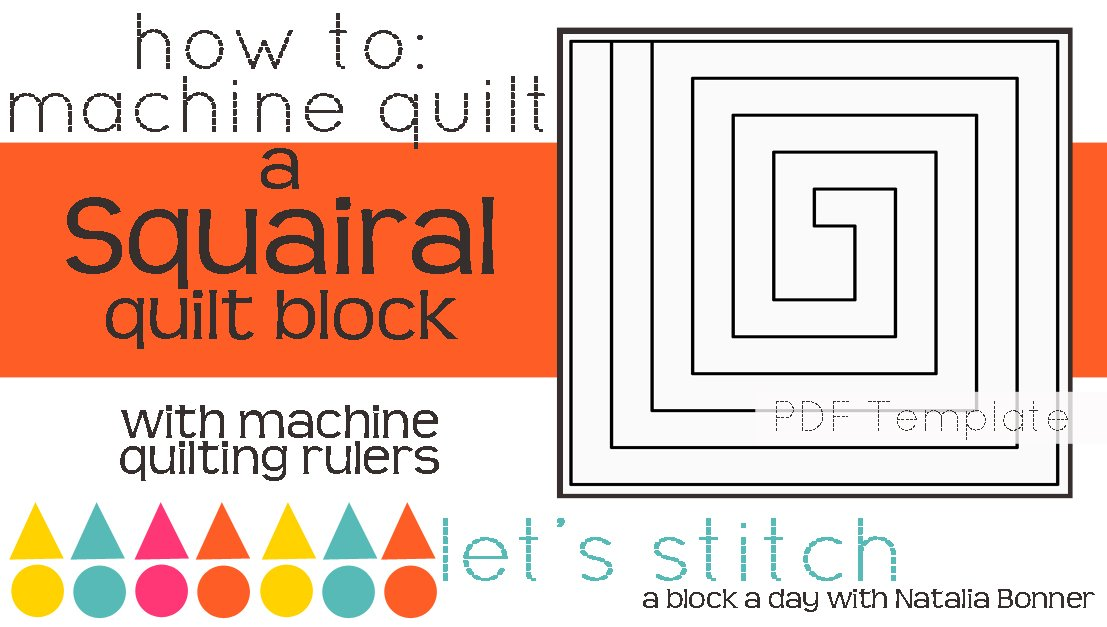 Let's Stitch - A Block a Day With Natalia Bonner - PDF - Squairal