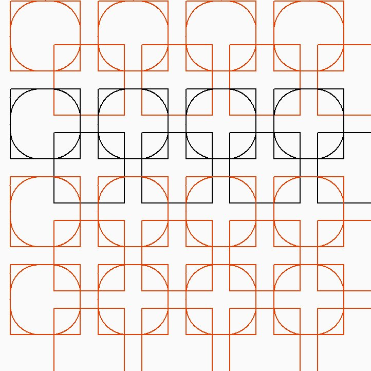 Square Dance Pantograph Pattern - Digital