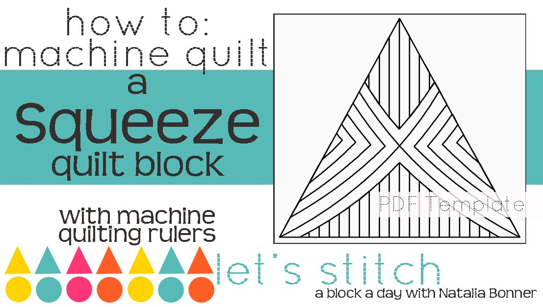 Let's Stitch - A Block a Day With Natalia Bonner - PDF - Squeeze