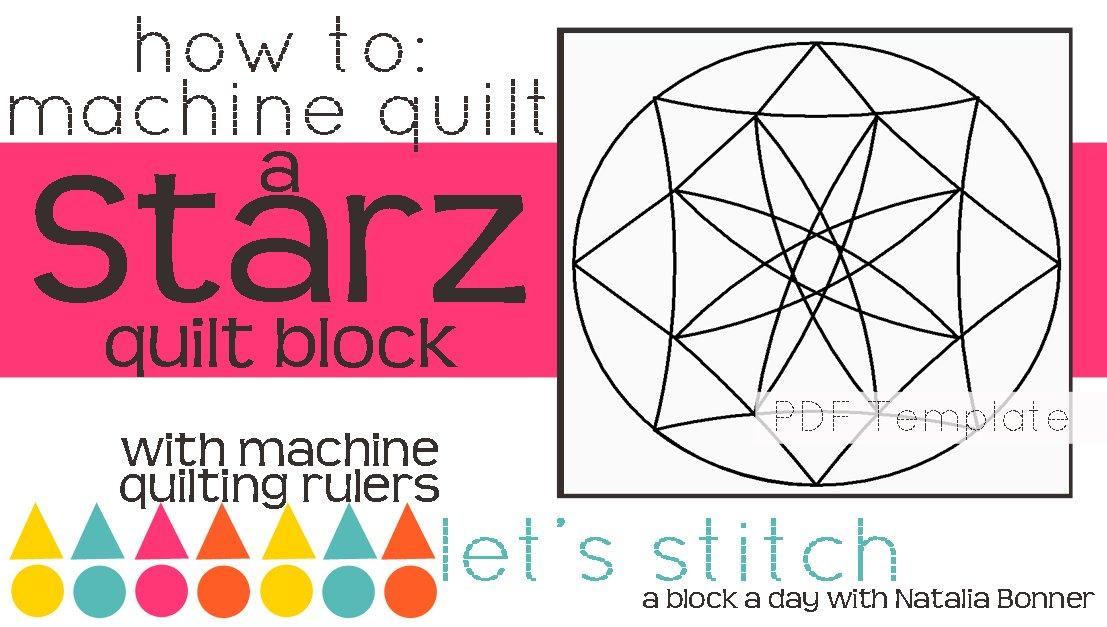 Let's Stitch - A Block a Day With Natalia Bonner - PDF - Starz