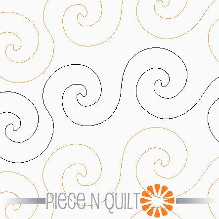 Stir Up Pantograph Pattern - Digital