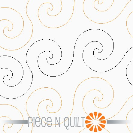 Stir Up Pantograph Pattern - Paper