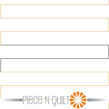 Straight Line Quilting Pantograph Pattern - Paper