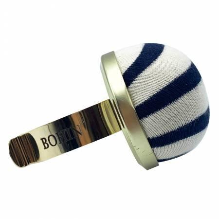 Pincushion with Gilted Bracelet - Brenton Stripe