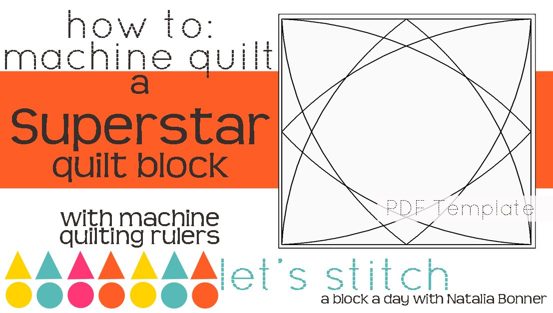Let's Stitch - A Block a Day With Natalia Bonner - PDF - Superstar
