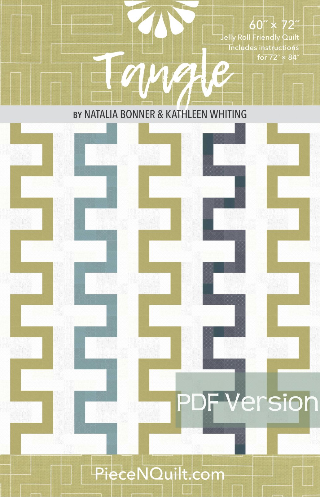 Tangle Quilt Pattern - PDF Version