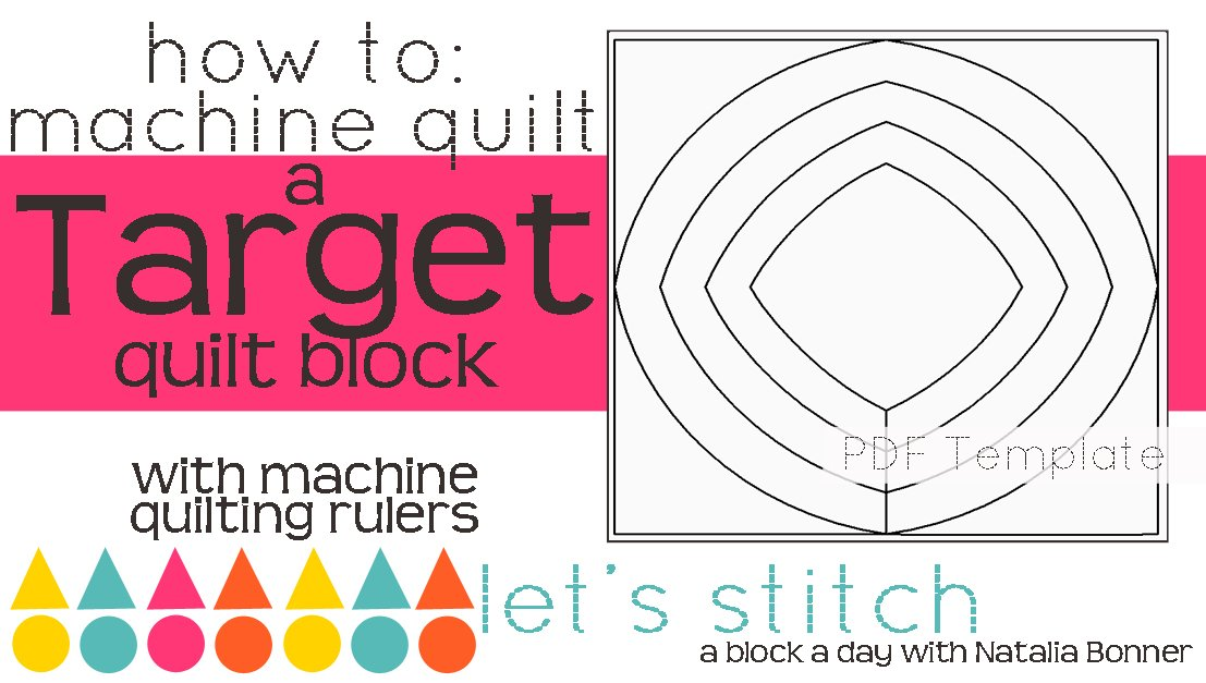Let's Stitch - A Block a Day With Natalia Bonner - PDF - Target