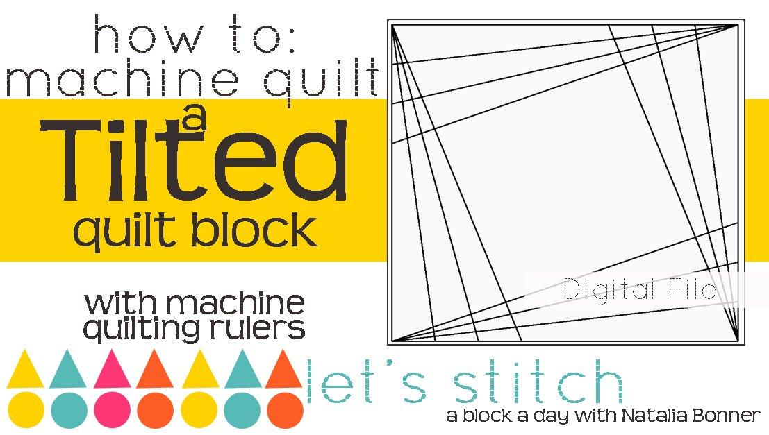 Tilted 6 Block - Digital