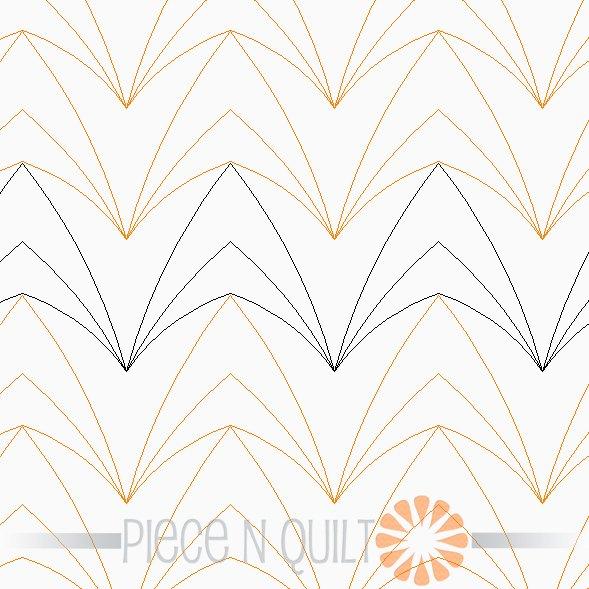 Timber Pantograph Pattern - Digital