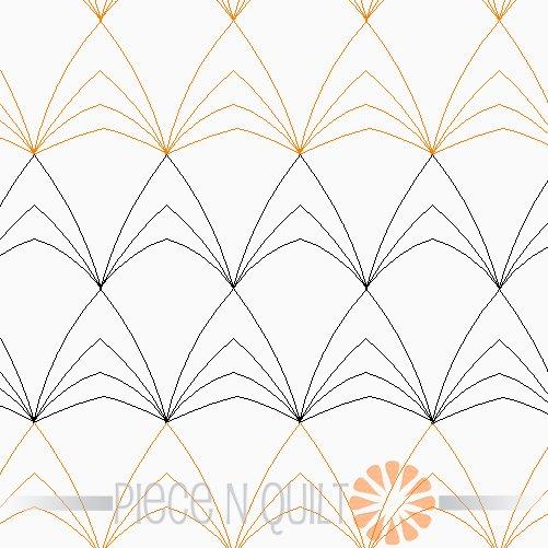 Timberland Pantograph Pattern - Digital