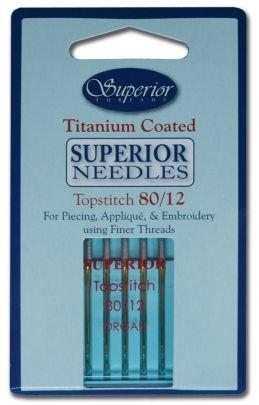 Superior Topstitch 80/12 Needle