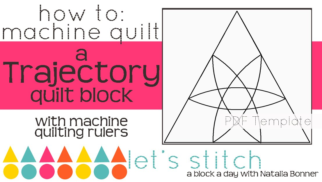 Let's Stitch - A Block a Day With Natalia Bonner - PDF - Trajectory